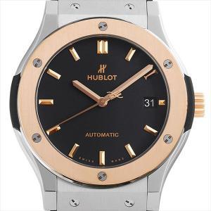 48回払いまで無金利 ウブロ クラシックフュージョン チタニウム キングゴールド オパーリン 511.NO.1181.LR 新品 メンズ 腕時計|ginzarasin