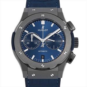 ウブロ クラシックフュージョン クロノグラフ セラミックブルー 521.CM.7170.LR 新品 メンズ 腕時計|ginzarasin