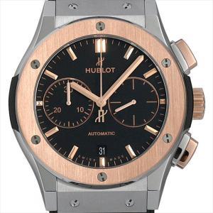 48回払いまで無金利 ウブロ クラシックフュージョン クロノグラフ チタニウム キングゴールド 521.NO.1181.LR 新品 メンズ 腕時計|ginzarasin