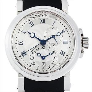 48回払いまで無金利 ブレゲ マリーン GMT 5857ST/12/5ZU 新品 メンズ 腕時計|ginzarasin