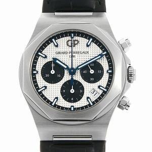 48回払いまで無金利 ジラールペルゴ ロレアート クロノグラフ 38mm 81040-11-131-BB6A 新品 メンズ 腕時計|ginzarasin