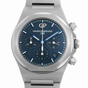48回払いまで無金利 ジラールペルゴ ロレアート クロノグラフ 38mm 81040-11-431-11A 新品 メンズ 腕時計|ginzarasin