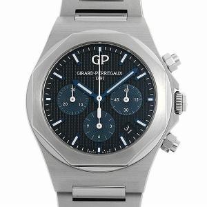 48回払いまで無金利 ジラールペルゴ ロレアート クロノグラフ 38mm 81040-11-631-11A 新品 メンズ 腕時計|ginzarasin