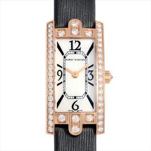 48回払いまで無金利 ハリーウィンストン アヴェニューC ミニ ベゼルダイヤ AVCQHM16RR017 新品 レディース 腕時計|ginzarasin