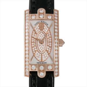48回払いまで無金利 ハリーウィンストン アヴェニューC ミニ ベゼルダイヤ AVCQHM16RR045 新品 レディース 腕時計|ginzarasin