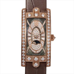 48回払いまで無金利 ハリーウィンストン アヴェニューC ミニムーンフェイズ AVCQMP16RR004 新品 レディース 腕時計|ginzarasin