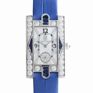 48回払いまで無金利 ハリーウィンストン アヴェニュークラシック オーロラ AVEQHM21WW292 新品 レディース 腕時計|ginzarasin