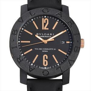 48回払いまで無金利 ブルガリ ブルガリブルガリ カーボンゴールド BBP40BCGLD 新品 メンズ 腕時計|ginzarasin