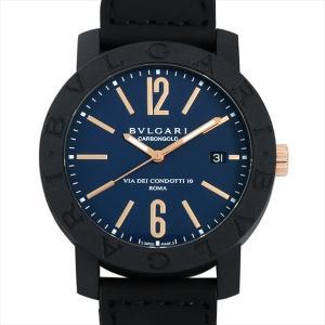60回払いまで無金利 ブルガリ ブルガリブルガリ カーボンゴールド BBP40C3CGLD 新品 メンズ 腕時計|ginzarasin
