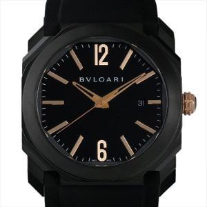 60回払いまで無金利 ブルガリ オクト ウルトラネロ BGO41BBSVD 新品 メンズ 腕時計|ginzarasin