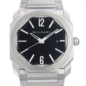 60回払いまで無金利 ブルガリ オクト BGO41BSSD 新品 メンズ 腕時計|ginzarasin