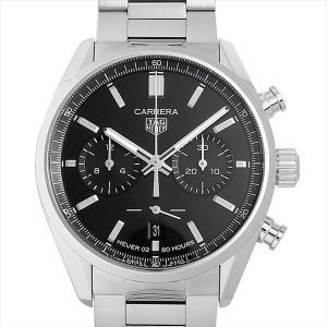 60回払いまで無金利 タグホイヤー カレラ キャリバー ホイヤー02 クロノグラフ CBN2010.BA0642 新品 メンズ 腕時計|ginzarasin