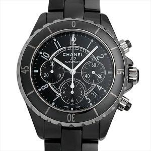 48回払いまで無金利 シャネル J12 クロノグラフ 黒セラミック H0940 新品 メンズ 腕時計|ginzarasin