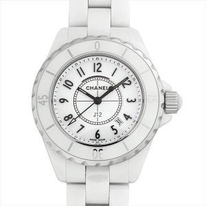 48回払いまで無金利 シャネル J12 白セラミック H0968 新品 レディース 腕時計