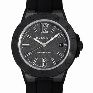 48回払いまで無金利 ブルガリ ディアゴノ マグネシウム ブラックラッカー DG41C14SMCVD 新品 メンズ 腕時計|ginzarasin