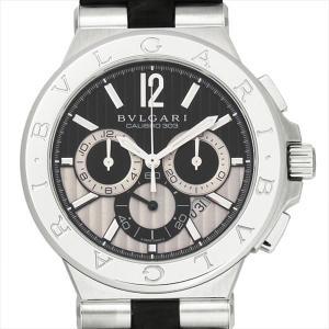 48回払いまで無金利 ブルガリ ディアゴノ カリブロ303 DG42BSLDCH 新品 メンズ 腕時計|ginzarasin