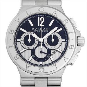 48回払いまで無金利 ブルガリ ディアゴノ カリブロ303 DG42BSSDCH 新品 メンズ 腕時計|ginzarasin