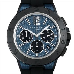 60回払いまで無金利 ブルガリ ディアゴノ マグネシウム クロノグラフ ブルーラッカー DG42C3SMCVDCH 新品 メンズ 腕時計|ginzarasin