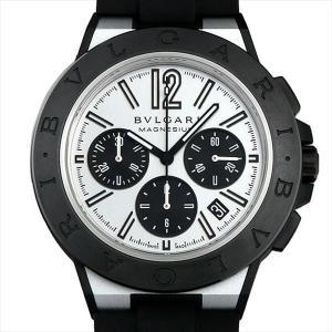 48回払いまで無金利 ブルガリ ディアゴノ マグネシウム クロノグラフ DG42WSMCVDCH シルバーラッカー 新品 メンズ 腕時計|ginzarasin