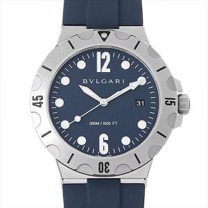48回払いまで無金利 ブルガリ ディアゴノ プロフェッショナル スクーバ DP41C3SVSD 新品 メンズ 腕時計|ginzarasin