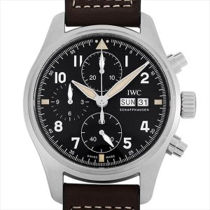 48回払いまで無金利 IWC パイロットウォッチ クロノグラフ スピットファイア IW387903 新品 メンズ 腕時計|ginzarasin