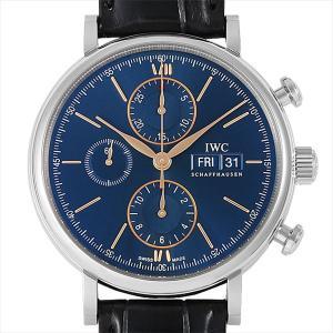 48回払いまで無金利 IWC ポートフィノ クロノグラフ IW391036 新品 メンズ 腕時計|ginzarasin