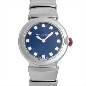 60回払いまで無金利 ブルガリ ルチェア LU28C3SS/12 新品 レディース 腕時計|ginzarasin