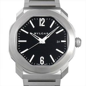 48回払いまで無金利 ブルガリ オクト ローマ OC41BSSD 新品 メンズ 腕時計|ginzarasin