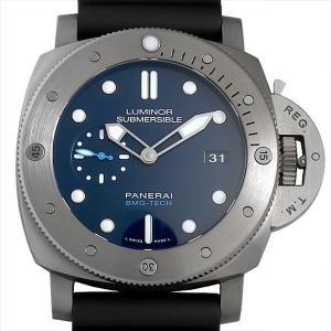 48回払いまで無金利 パネライ ルミノール サブマーシブル 1950 BMG-TECH 3デイズ オートマティック PAM00692 新品 メンズ 腕時計|ginzarasin