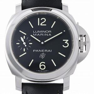 48回払いまで無金利 パネライ ルミノール マリーナ ロゴ 3デイズ アッチャイオ PAM00776 新品 メンズ 腕時計|ginzarasin