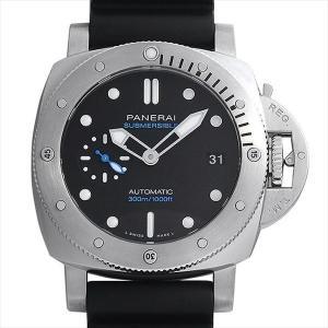48回払いまで無金利 パネライ ルミノール サブマーシブル 1950 3デイズ オートマティック アッチャイオ PAM00973 新品 メンズ 腕時計|ginzarasin
