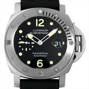48回払いまで無金利 パネライ ルミノール サブマーシブル オートマティック アッチャイオ PAM01024 新品 メンズ 腕時計|ginzarasin