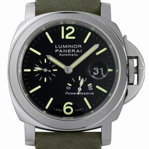 48回払いまで無金利 パネライ ルミノール パワーリザーブ オートマティック アッチャイオ PAM01090 新品 メンズ 腕時計|ginzarasin