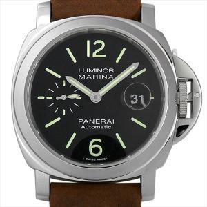 48回払いまで無金利 パネライ ルミノールマリーナ オートマティック アッチャイオ PAM01104 U番 新品 メンズ 腕時計|ginzarasin