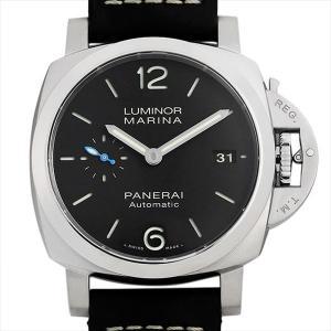 48回払いまで無金利 パネライ ルミノール マリーナ 1950 3デイズ オートマティック アッチャイオ PAM01392 W番  新品 メンズ 腕時計|ginzarasin