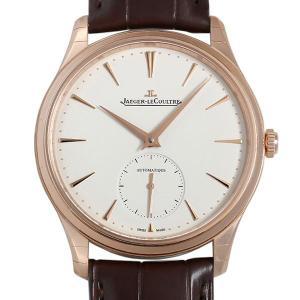 48回払いまで無金利 ジャガールクルト マスター ウルトラスリム スモールセコンド Q1212510(109.2.90.S) 新品 メンズ 腕時計|ginzarasin