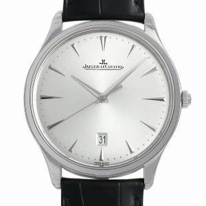 48回払いまで無金利 ジャガールクルト マスターウルトラスリム デイト Q1288420(174.8.37.S) 新品 メンズ 腕時計 ginzarasin