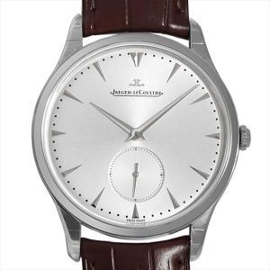 48回払いまで無金利 ジャガールクルト マスターグランド ウルトラスリム Q1358420(174.8.90.S) 新品 メンズ 腕時計 ginzarasin