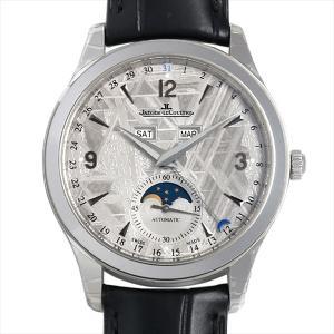 48回払いまで無金利 ジャガールクルト マスターカレンダー Q1558421(176.8.12.S) 新品 メンズ 腕時計 ginzarasin