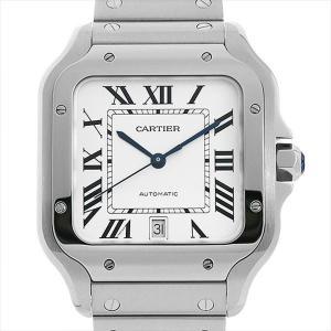 48回払いまで無金利 カルティエ サントス ドゥ カルティエ LM WSSA0009 新品 メンズ 腕時計|ginzarasin