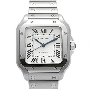48回払いまで無金利 カルティエ サントス ドゥ カルティエ MM WSSA0010 新品 メンズ 腕時計|ginzarasin