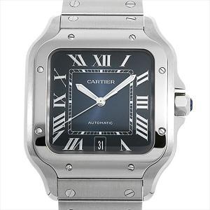 48回払いまで無金利 カルティエ サントス ドゥ カルティエ LM WSSA0013 新品 メンズ 腕時計|ginzarasin