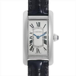 48回払いまで無金利 カルティエ タンクアメリカン WSTA0016 新品 レディース 腕時計|ginzarasin