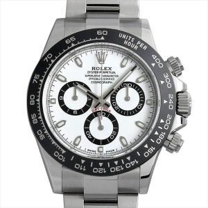 ロレックス コスモグラフ デイトナ 116500LN ホワイト 未使用 メンズ 腕時計 48回払いまで無金利
