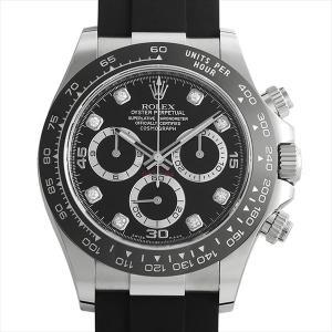 48回払いまで無金利 ロレックス コスモグラフ デイトナ 8Pダイヤ 116519LNG ブラック 未使用 メンズ 腕時計|ginzarasin