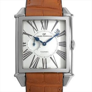 48回払いまで無金利 ジラールペルゴ ヴィンテージ 1945 国交樹立150周年記念 25835-11-1320SBBCC 未使用 メンズ 腕時計|ginzarasin