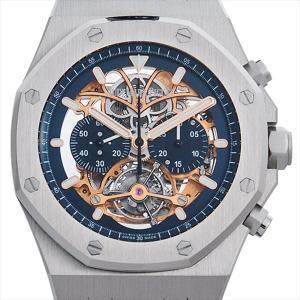SALE 【48回払いまで無金利】オーデマピゲ ロイヤルオーク トゥールビヨン クロノグラフ オープンワーク 26347PT.OO.D315CR.01 未使用 メンズ 腕時計