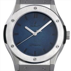ウブロ クラシックフュージョン ベルルッティ スクリット オーシャンブルー 511.NX.050B.VR.BER16 未使用 メンズ 腕時計|ginzarasin