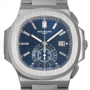 パテックフィリップ ノーチラス クロノグラフ 40周年記念 限定1300本 5976/1G-001 未使用 メンズ 腕時計|ginzarasin