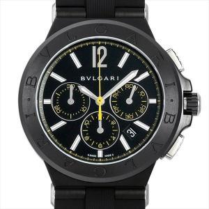 60回払いまで無金利 ブルガリ ディアゴノ ウルトラネロ クロノグラフ DG42BBSCVDCH/2 未使用 メンズ 腕時計|ginzarasin